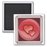 Heart Design Magnet